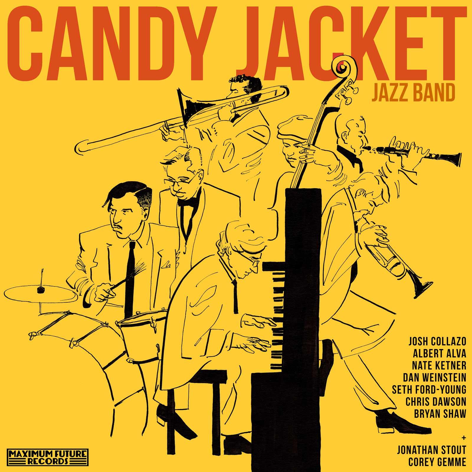 Candy Jacket Jazz Band Final Album CoverDesign