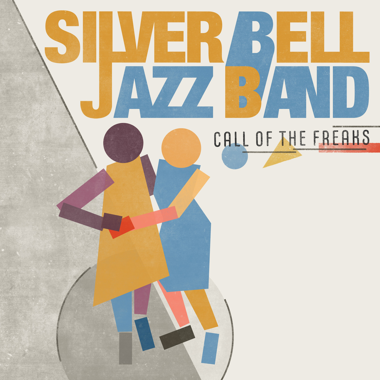 Call of the freaks Silver Bell Jazz Band album front cover design