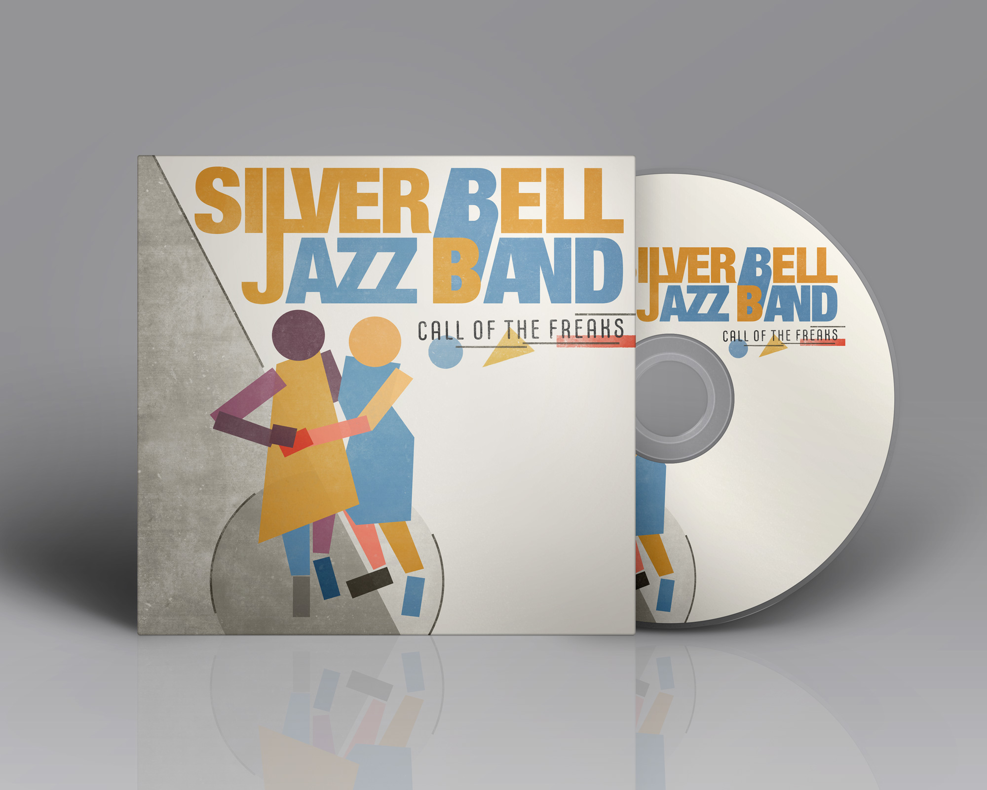 Call of the freaks Silver Bell Jazz Band album design