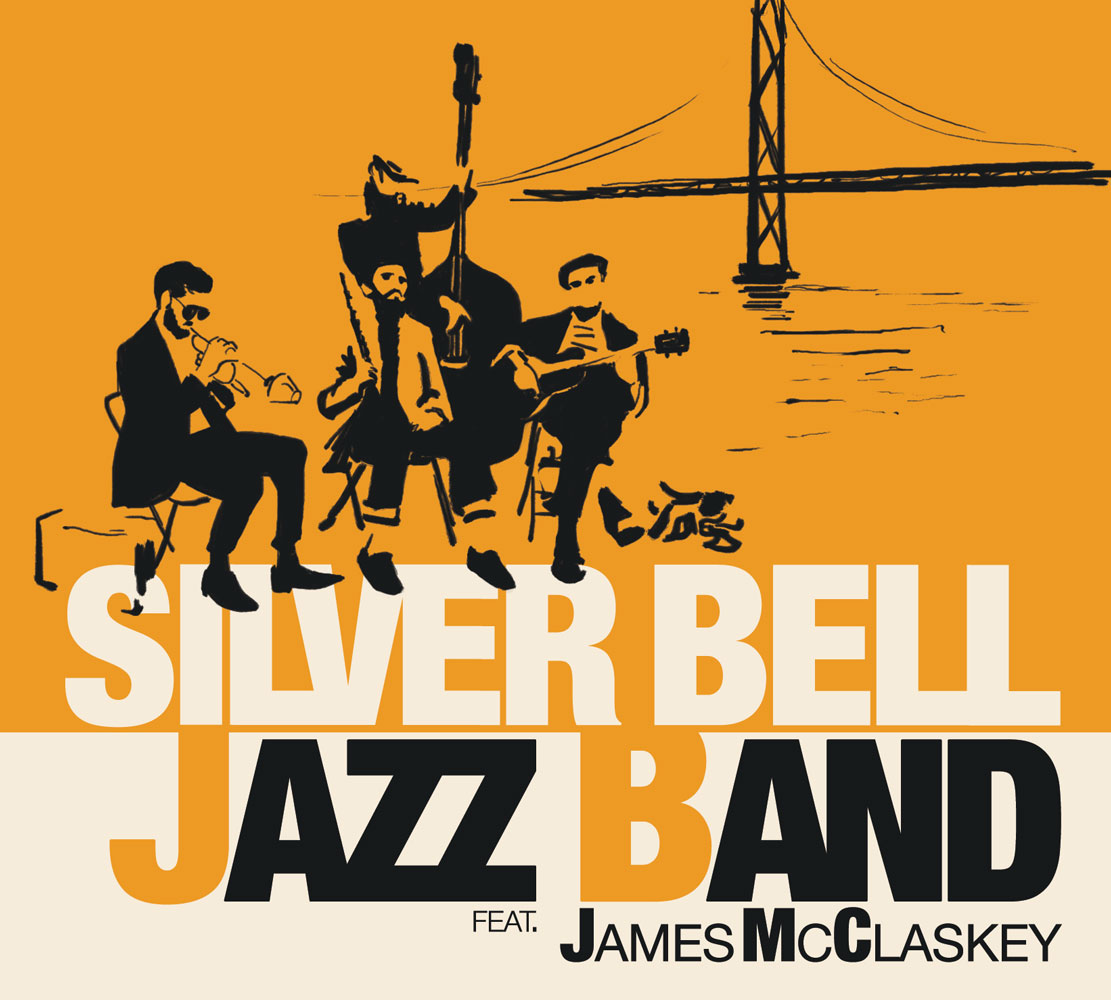 Silver Bell Jazz Band Final ALbum Design Front Cover