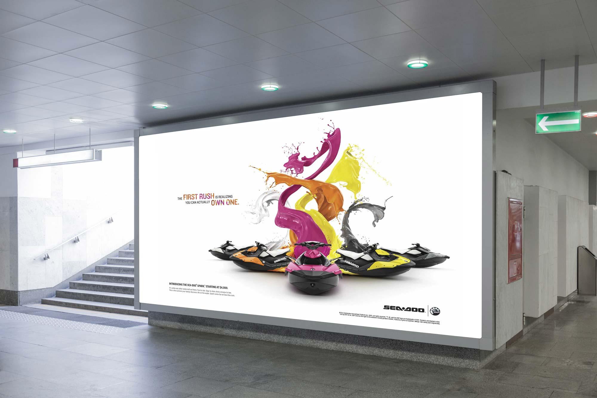 Sea-Doo Spark Paint Design