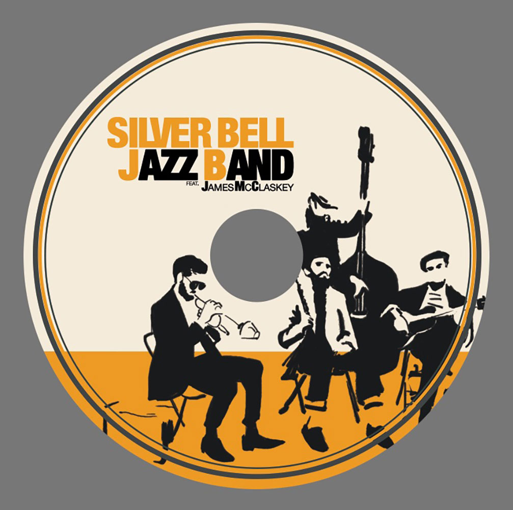 Silver Bell Jazz Band Final ALbum Design CD Design