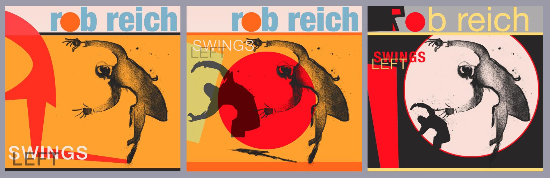 Rob Reich Album Cover Design Variations