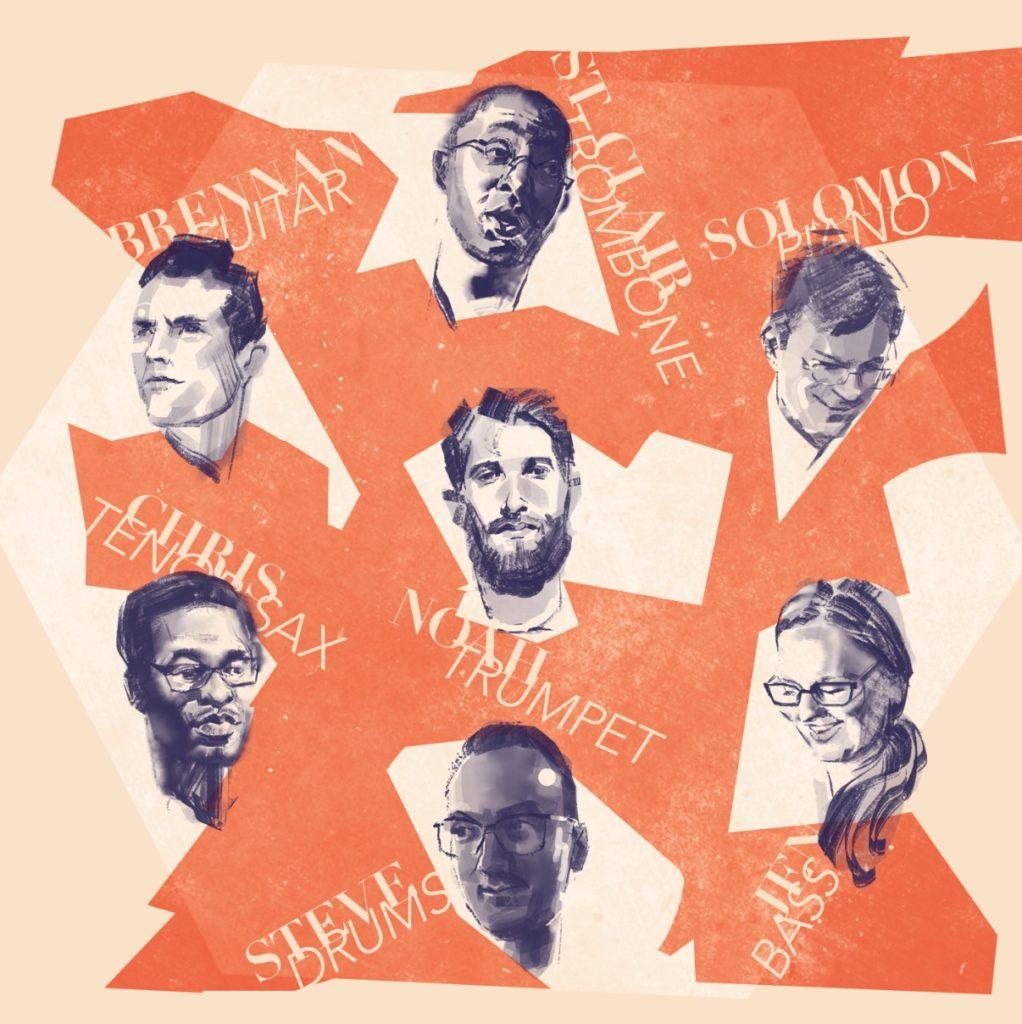 Head to Head album cover design portraits variation