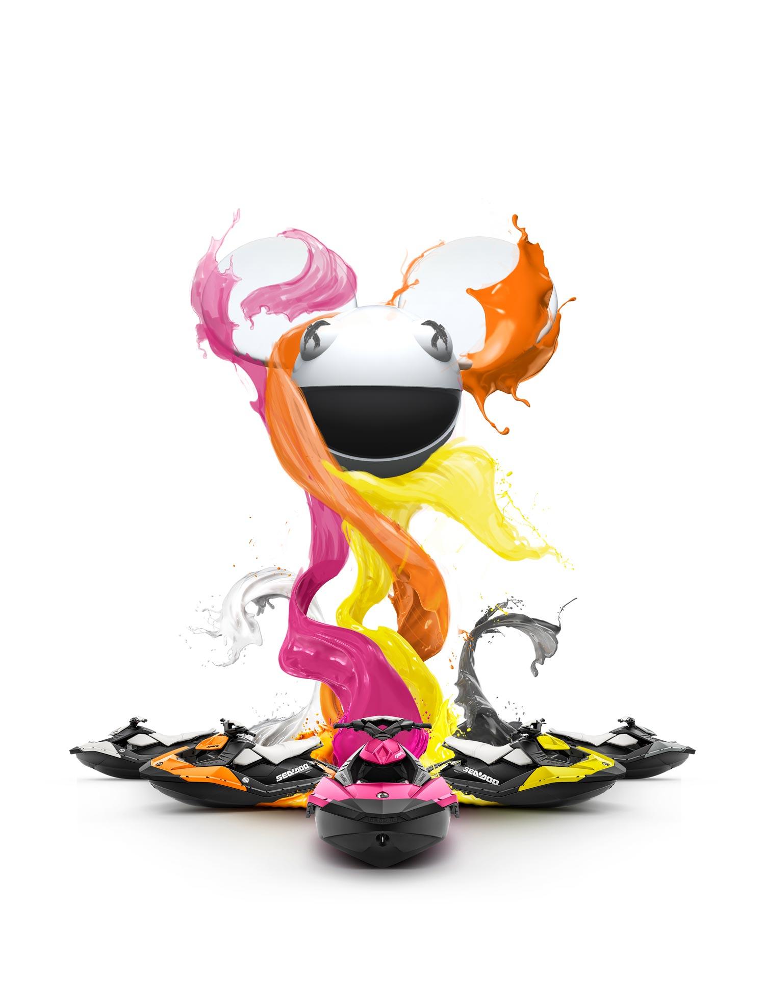 Sea-Doo Spark Paint Design Deadmau5
