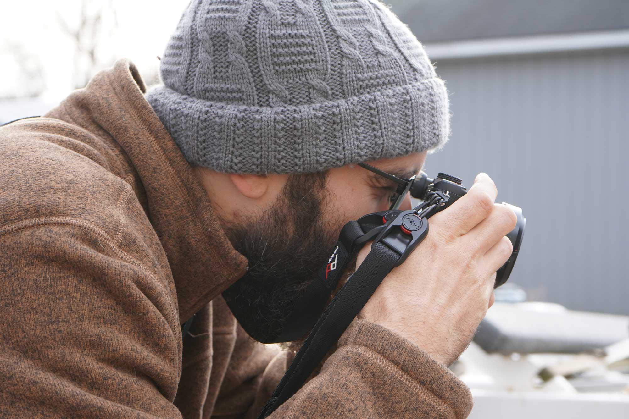 Ryan Calloway Portrait Photo Taking Photos