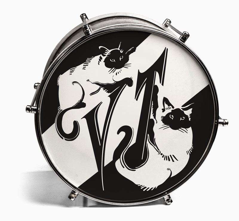 Virginia Tichenor Bass Drum