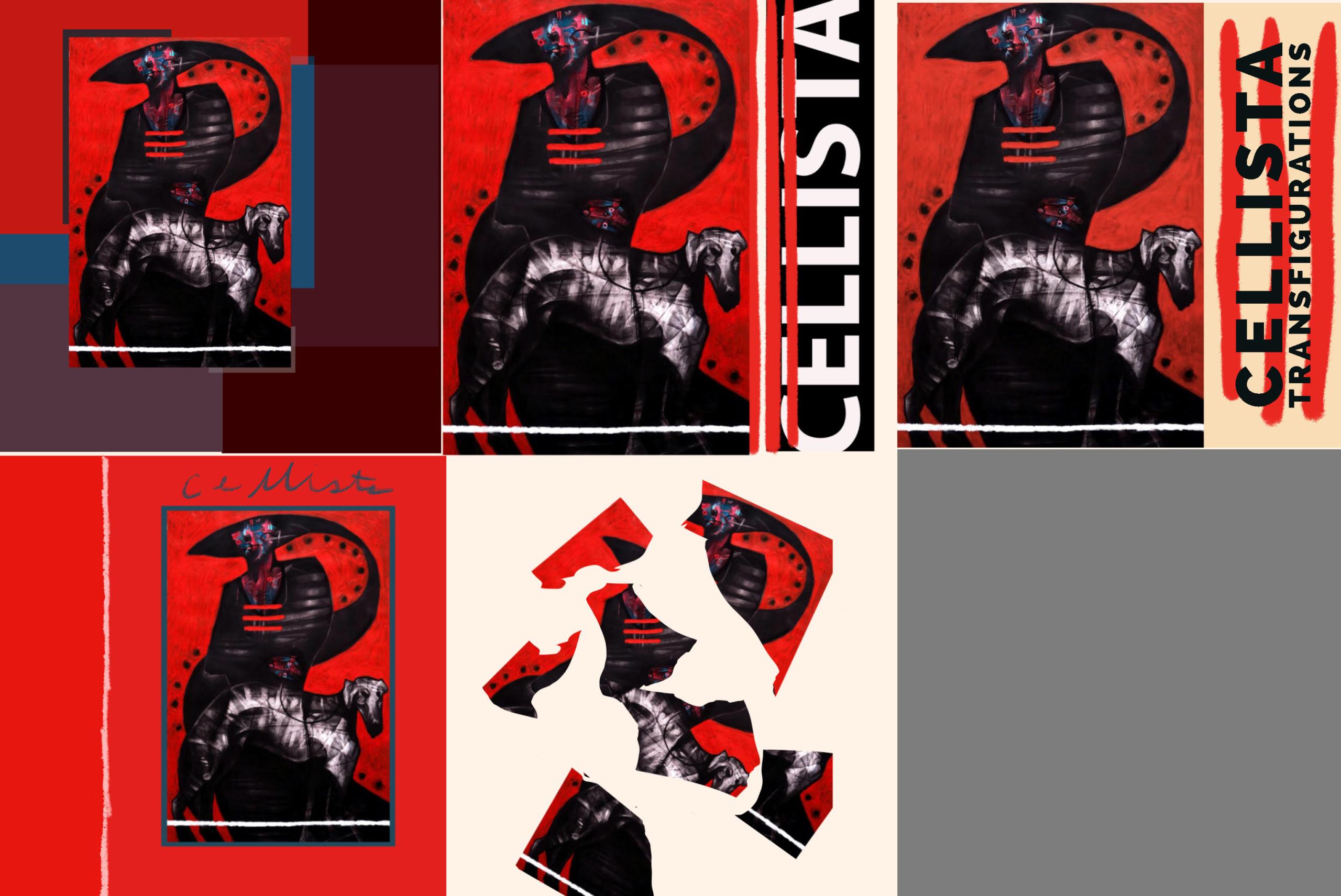 Cellista Album process images