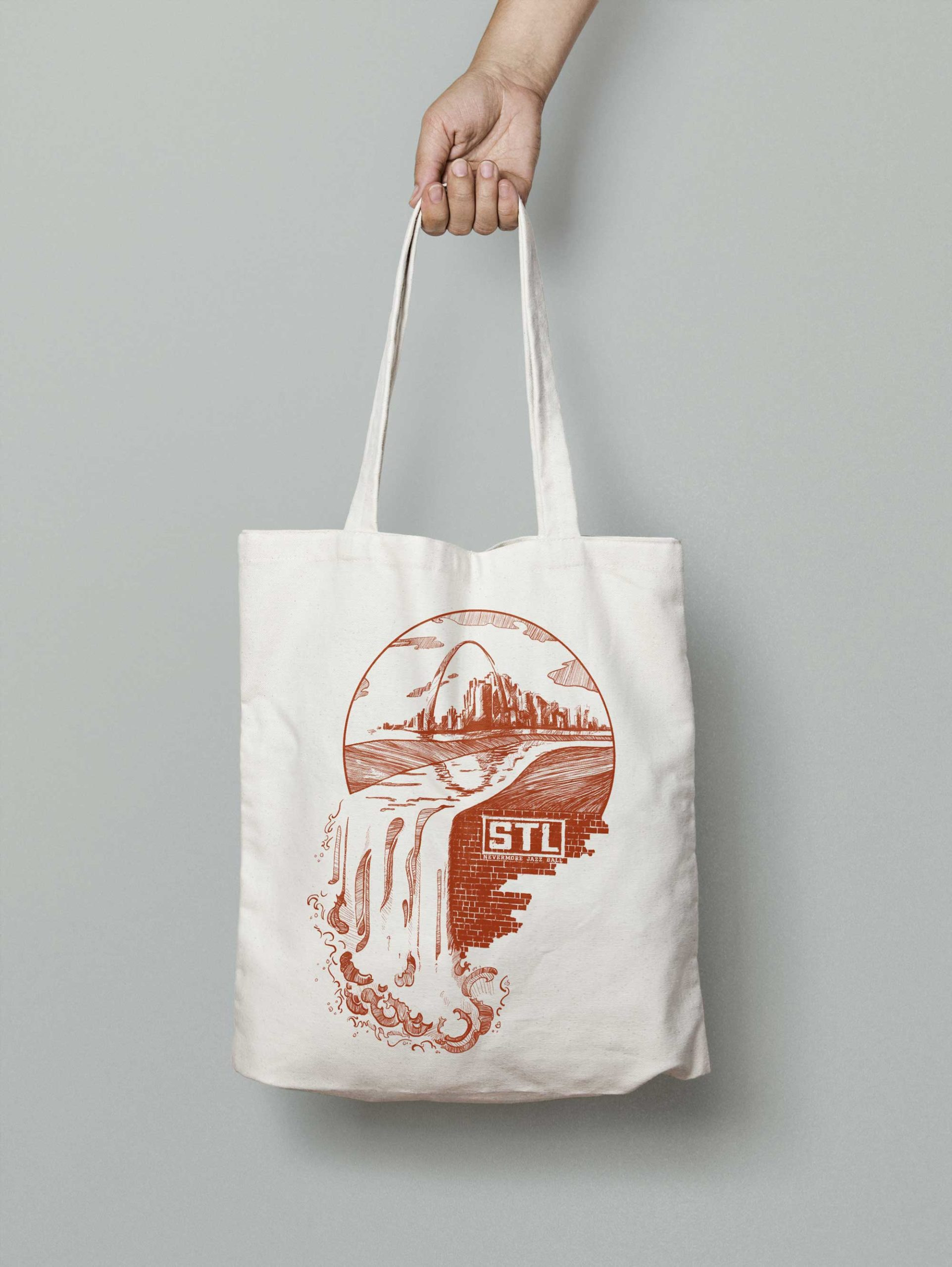 Nevermore Jazz Ball Final Tote Design