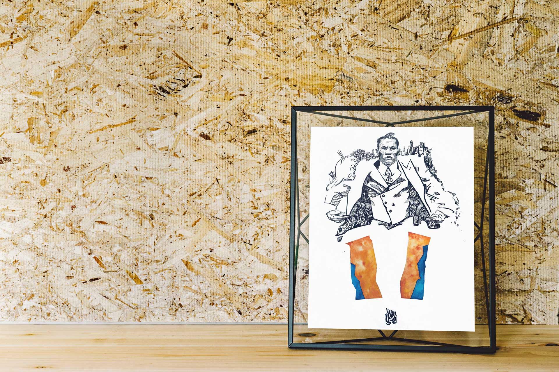 Rik Portrait Illustration