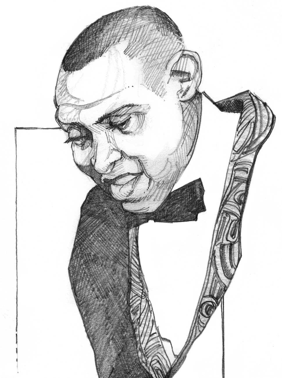 Masters of Swing Drawing, Lionel Hampton