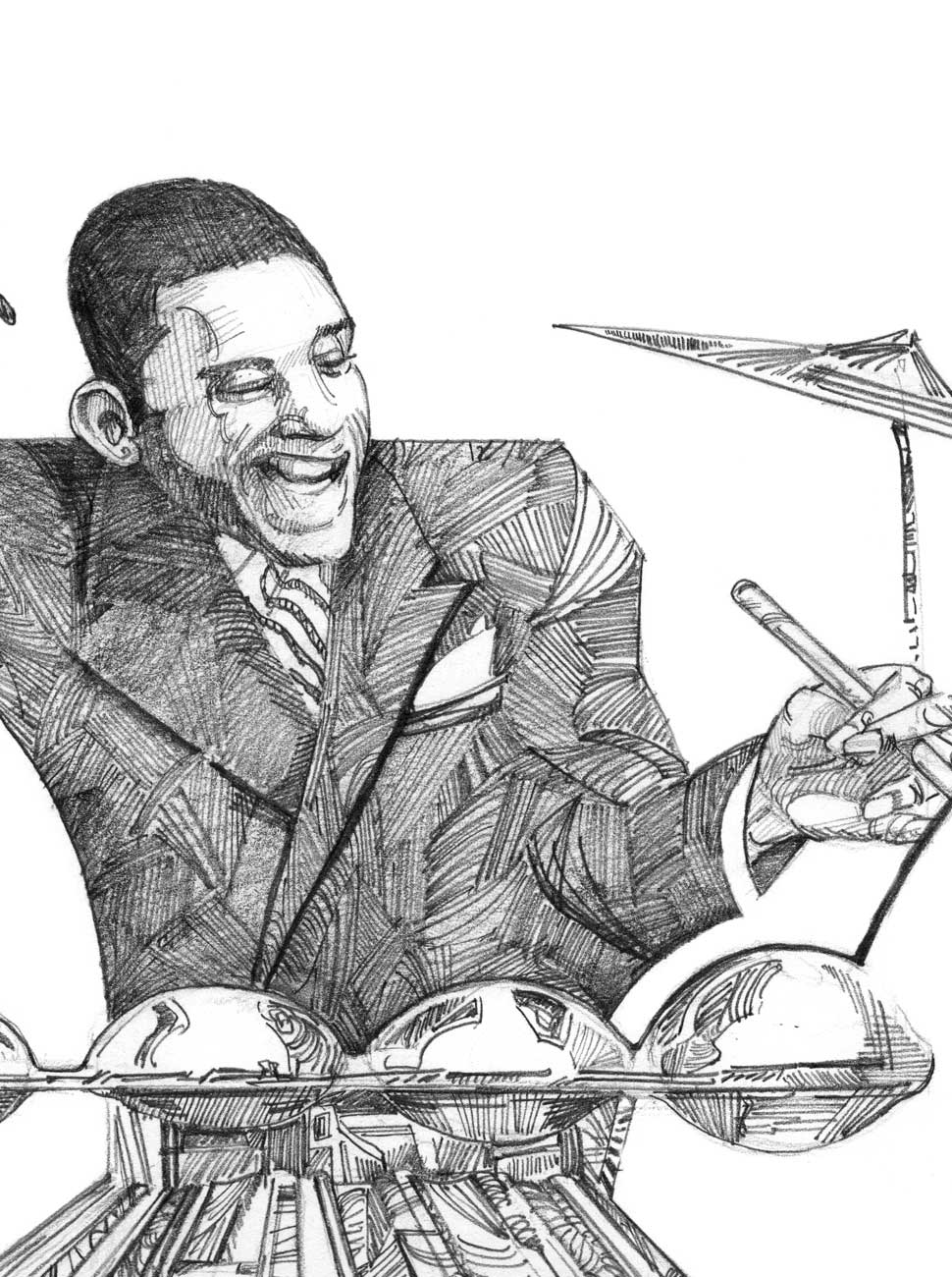 Masters of Swing Drawing, Chick Webb